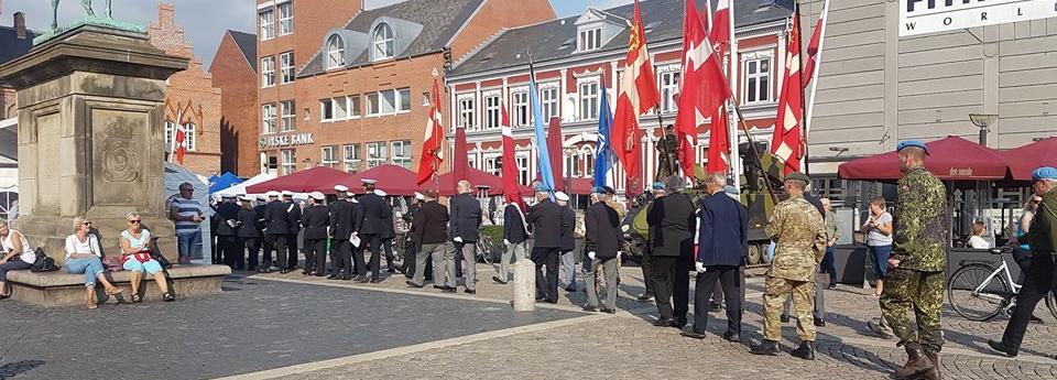 Fra Flagdagen 2018 på Torvet i Esbjerg